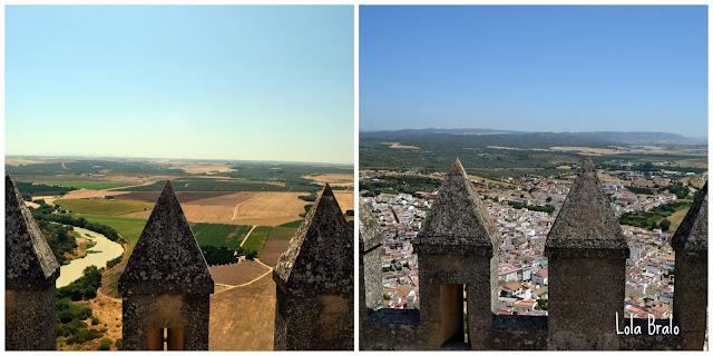 Almenas del Castillo de Almodovar del Rio