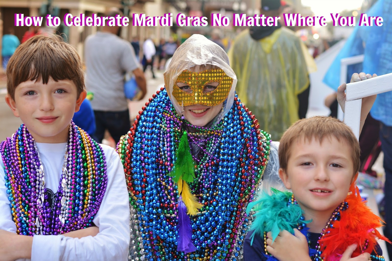 Great tips for celebrating Mardi Gras no matter where you are. #MardiGras #DIY