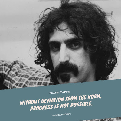 Quote on progress by Frank Zappa