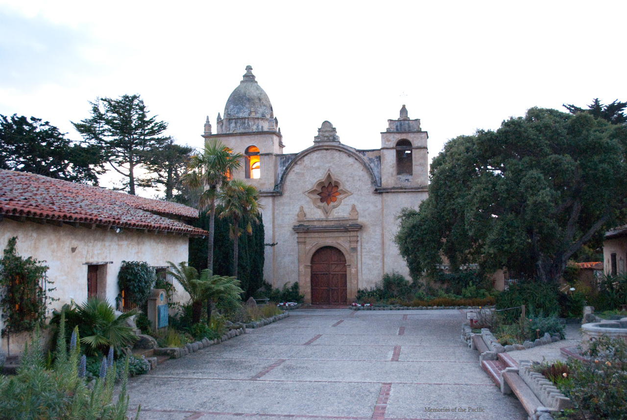 carmel mission california one highway