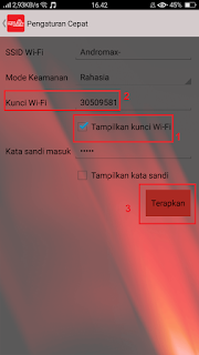cara mengganti password andromax