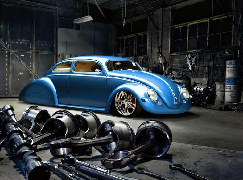 Fast is fast   : Nice custom VW bug