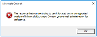 Office 2016 - Outlook and Exchange Compatibility 1