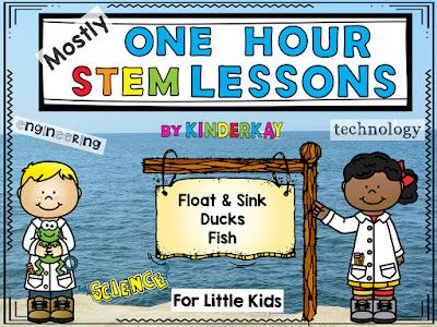 https://www.teacherspayteachers.com/Product/Mostly-One-Hour-STEM-Lessons-SINKFLOAT-DUCKS-FISH-For-Kindergarten-3913771