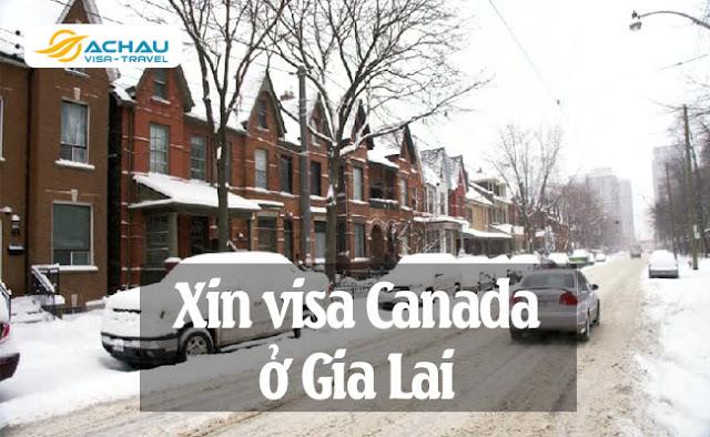 Xin visa Canada ở Gia Lai