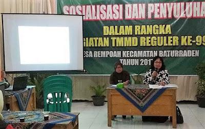 UU Administrasi Disuluhkan ke Warga Desa Sasaran TMMD