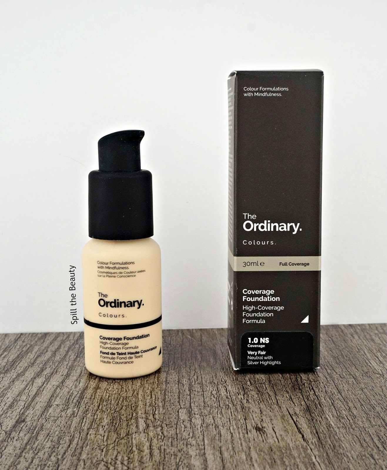 The Ordinary Coverage Foundation – Review, Swatches, Before & After