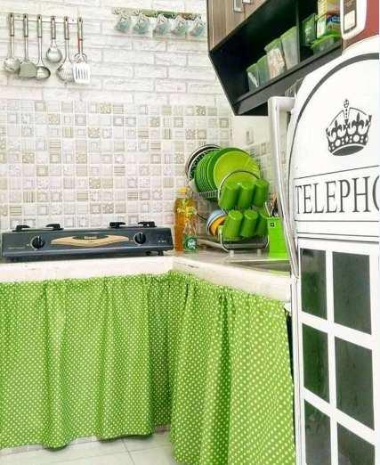 dapur minimalis sederhana tapi modern