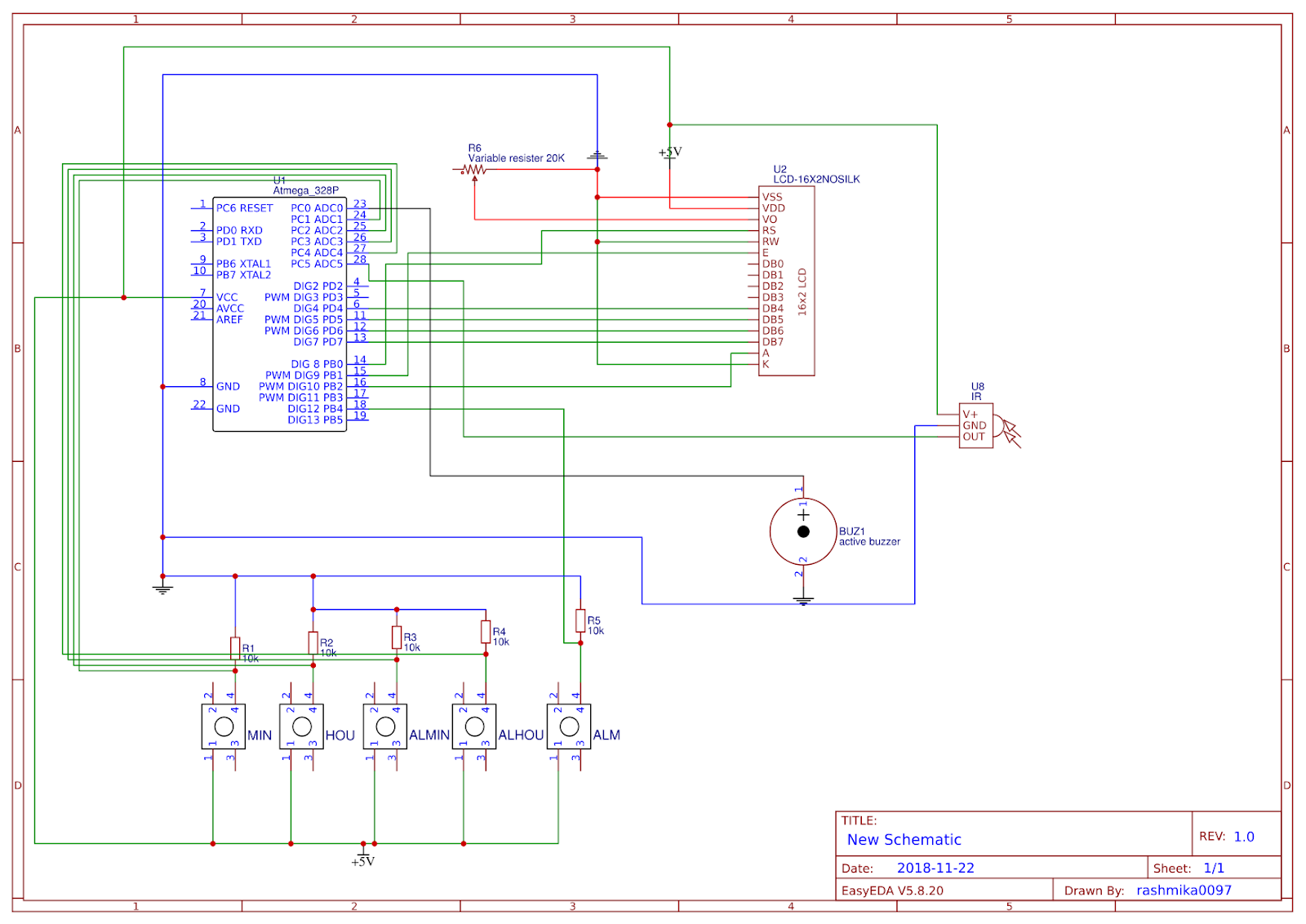 Arduino ,Linux, Oracle database and electronic Help: atmega328p