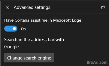 Tips Browsing Internet Menggunakan Microsoft Edge dengan Menghubungkan Cortana