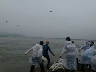 How a Defector Uses Flood Waters to Send Bibles And Tons of Rice To Persecuted  North Korean Christians