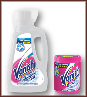 Vanish Oxi Action Stain Removal Products