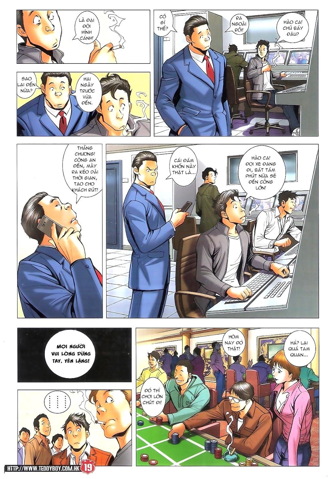 Người Trong Giang Hồ chapter 1696: giết vào vượng giác trang 18