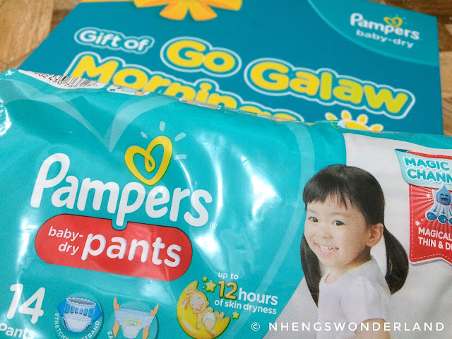 Pampers Go Galaw Mornings