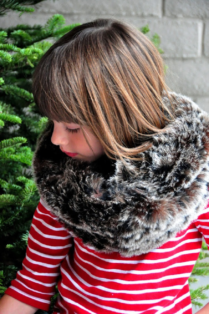 Faux Fur Infinity Scarf