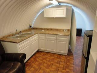 Bunker subterraneo secreto de lujo
