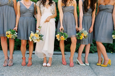 Lovely Gray Wedding Color Palettes