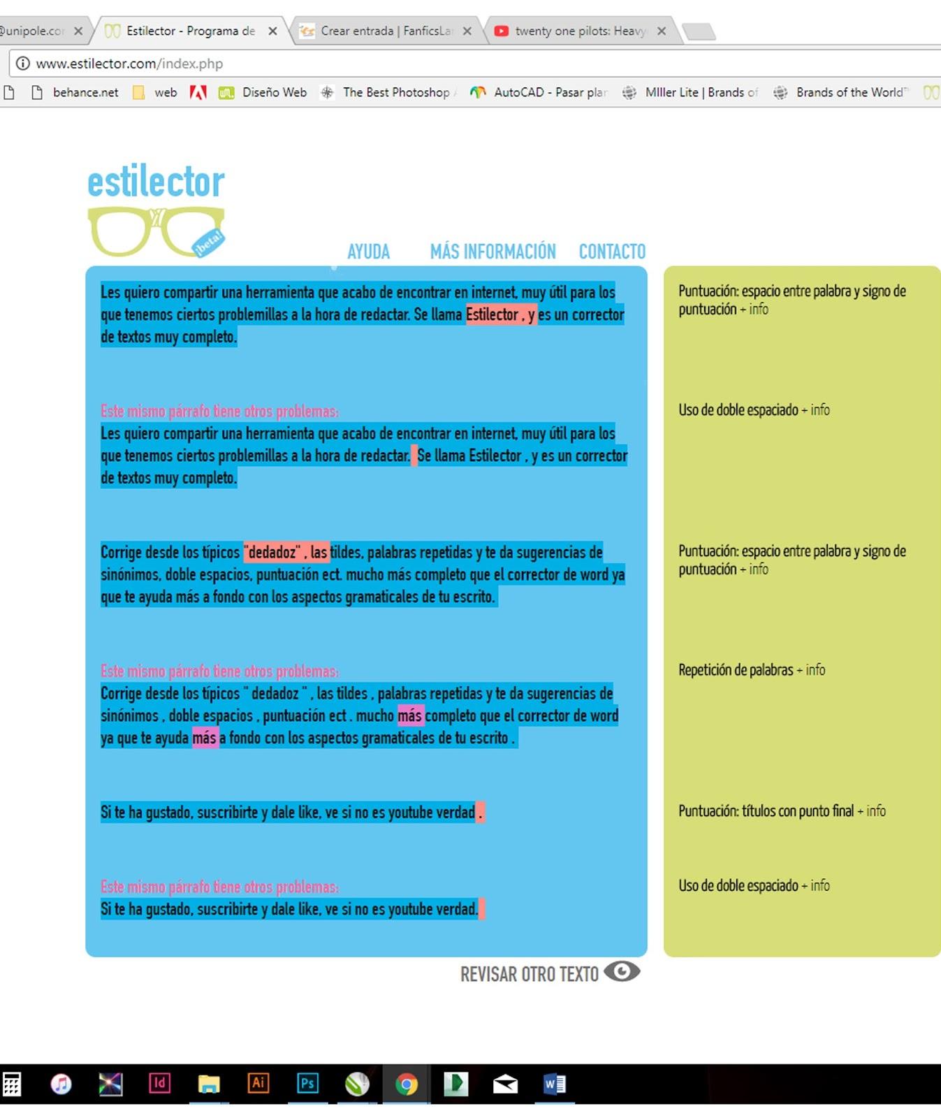 Vistoso Reanudar Word Acentos Bandera - Ejemplo De Colección De ...