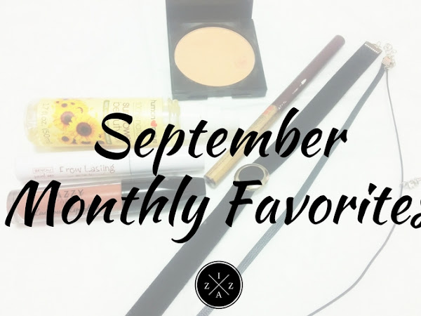 September Monthly Favorites