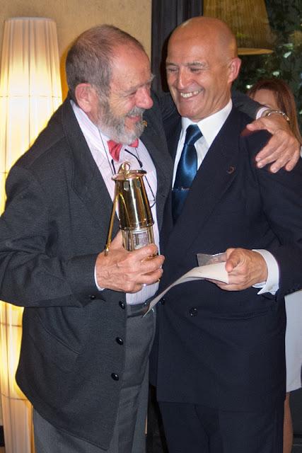 José Luis de la Cruz y Luis Rollán
