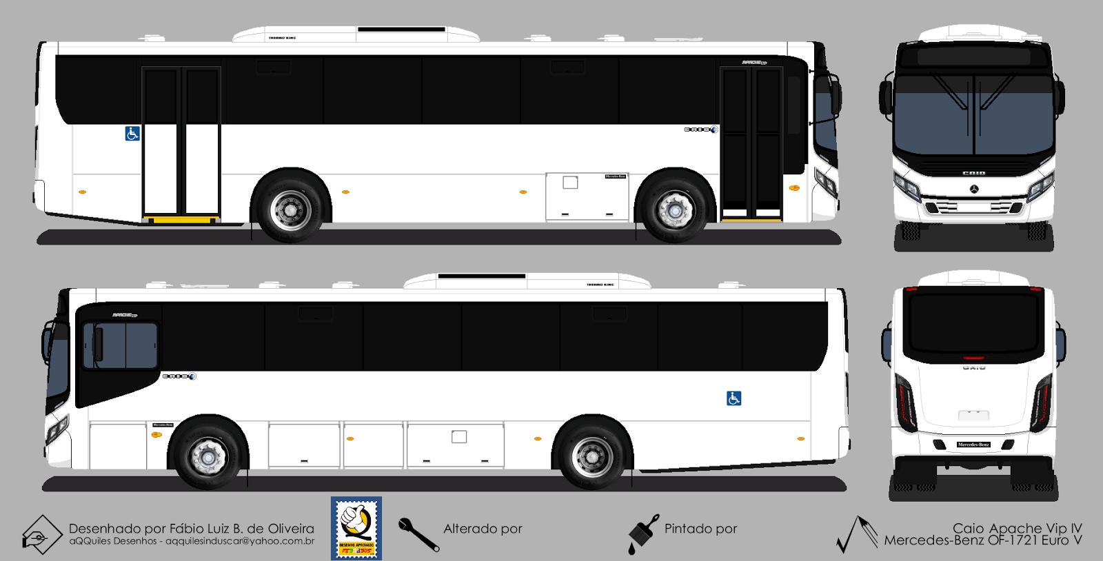 Buscar Bus Desenho De Onibus Caio Apache Vip Iv