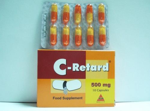 دواعى إستعمال سى ريتارد C Retard لعلاج نزلات البرد 2021