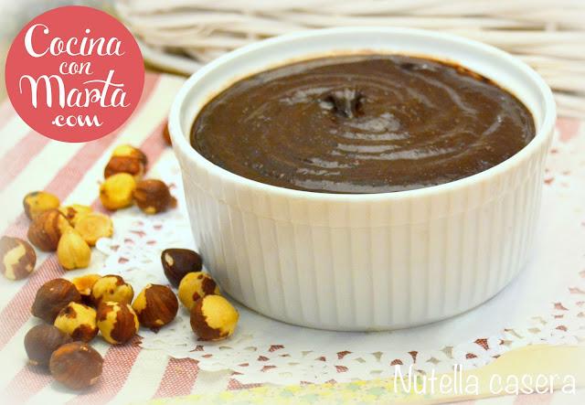 Nocilla casera, nutella casera, como hacer nutella en casa, cacao, avellanas, sin leche, aplv, nutella alergicos, niños, fácil, rápida, cocina con marta