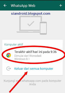Cara Melihat dan mengamankan Pengintip akun Whatsapp