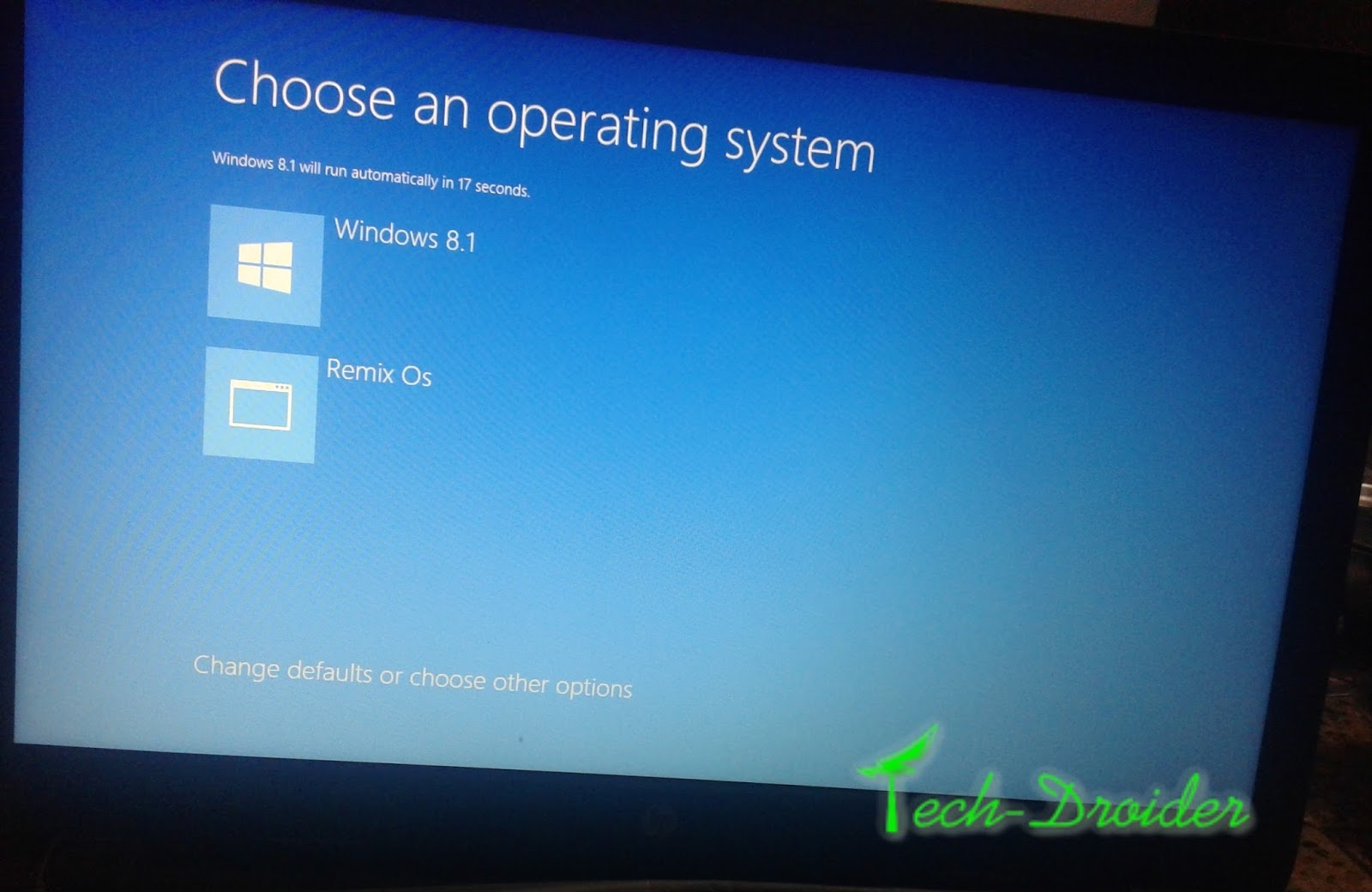 how to uninstall remix os on hard drive