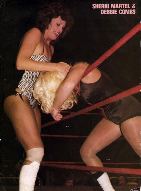 women wrestling 1980s