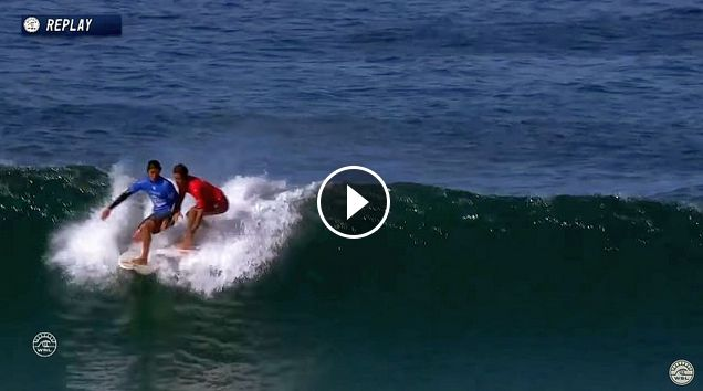 Filipe Toledo vs Kanoa Igarashi - Round Three Heat 10 - Oi Rio Pro 2017