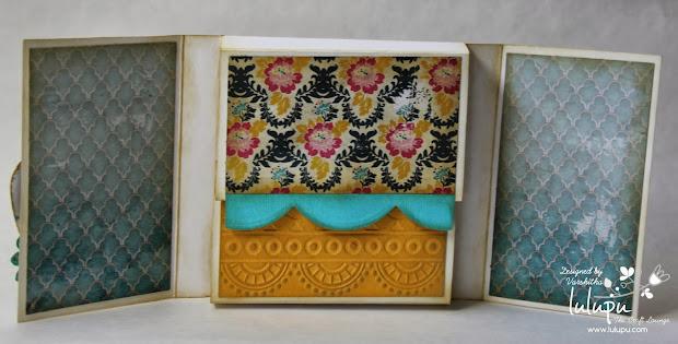 Lulupu - Craft Lounge Memory Box Card Tutorial