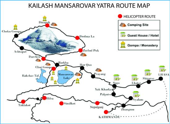 Kailash Mansarovar Overland Yatra 2018