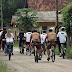 Passeio ciclístico leva participantes a conhecerem cultura e natureza do litoral