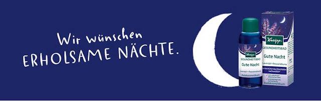 """Gesundheitsbad """"Gute Nacht"""" von Kneipp"""