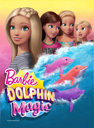 Poster Of Barbie: Dolphin Magic In Dual Audio Hindi English 300MB Compressed Small Size Pc Movie Free Download Only At worldfree4u.com