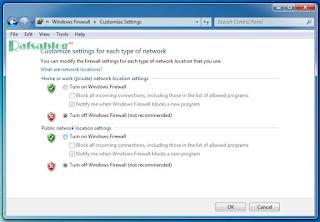 Cara Mematikan Firewall di Windows 7, 8, 10