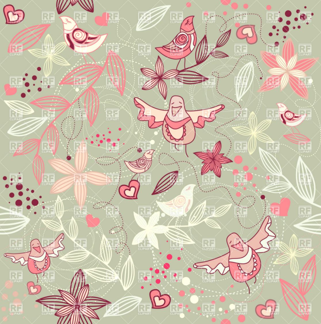 Cute Vintage Bird Wallpaper Wallpapers Minimalist
