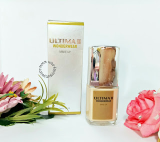 review ultima II wonderwear liquid foundation