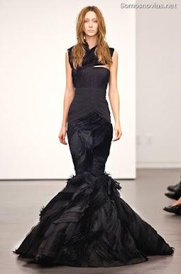 Vestidos de novia negros