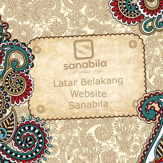 Latar Belakang Website Sanabila