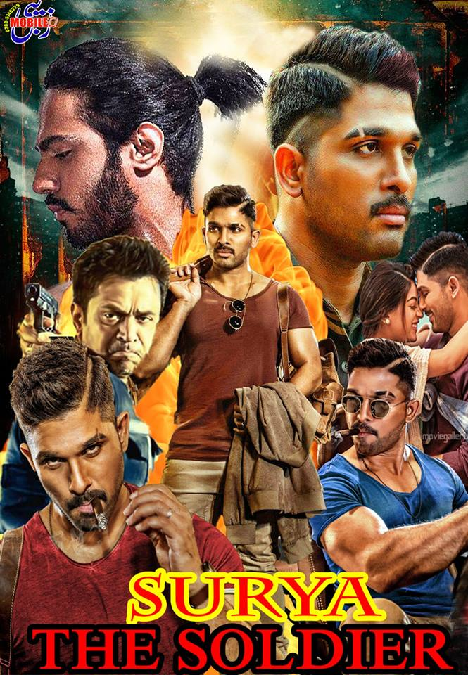 SURYA The Soldier Naa Peru Surya (2018) HDRip Hindi Line Audio 700MB MKV