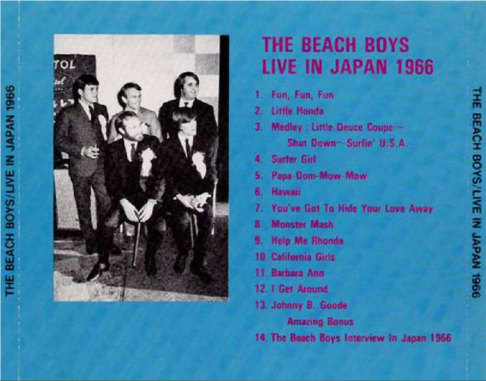 Beach Boys Live In Japan  Flac