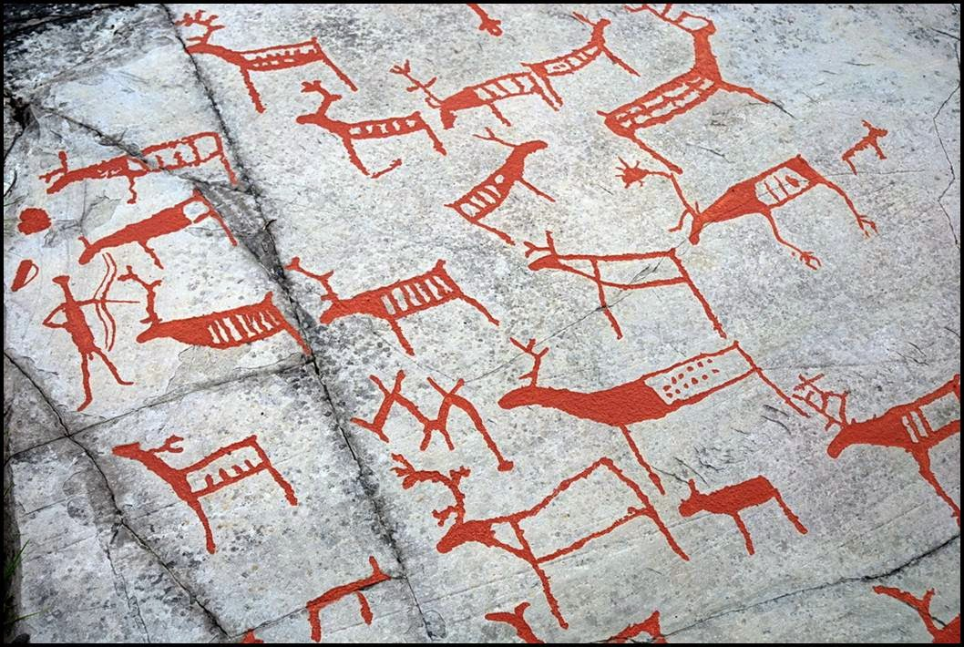 Alta rock carvings the prehistoric carving near