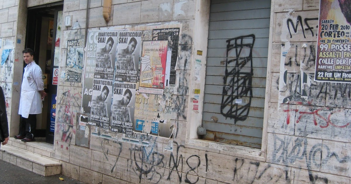 Rome The Second Time Graffiti The Good The Bad And The Ugly