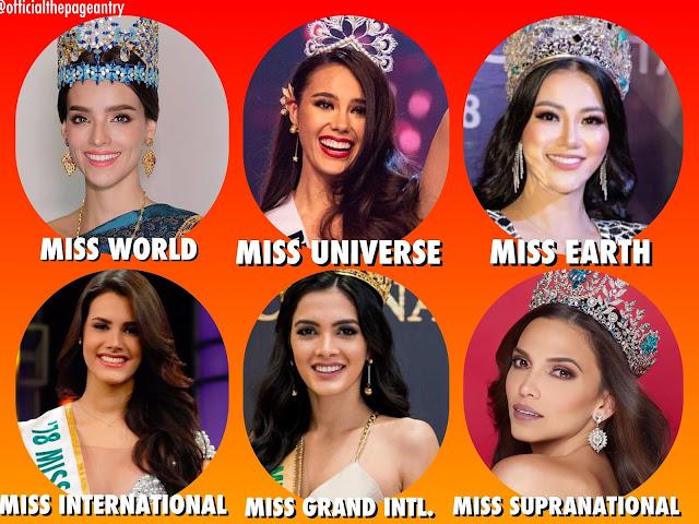 Six Major Beauty Pageants