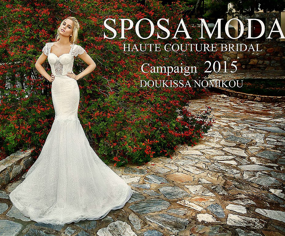 1f44957dbf01 Doukissa Nomikou for Sposa Moda 2015!
