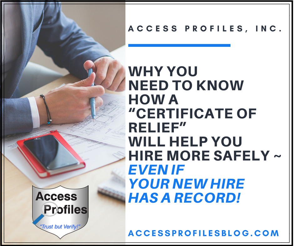 Access Profiles Inc July 2018