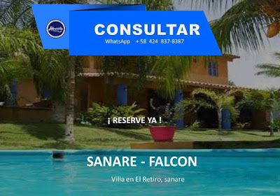 imagen Alojamiento  Vip villa  equipada  sanare – Falcón