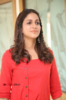 Actress Lavanya Tripathi Latest Pos in Red Dress at Radha Movie Success Meet .COM 0129.JPG